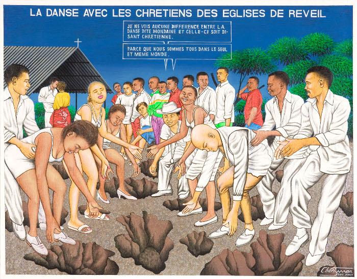 Cheri Samba, La danse avec les chretiens des eglises de reveil, 2001