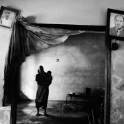 home during the floods, mozambique, silver gelatin on fibre-based paper, 42x62 cm, 2000, edition of 12