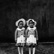 the silence of the ranto twins, silver gelatin on fibre-based paper, 62x42cm, 1995, edition of 12