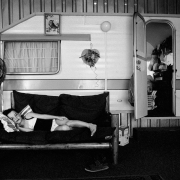 courtney curtis, caravan park, east rand, silver gelatin on fibre-based paper, 42x62cm, 1996, edition of 12