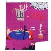 chaleur d'hiver, silk tapestry, 136x151cm