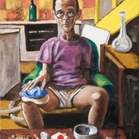 howard, oil on canvas, 46x36cm, 2009