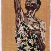if not when, silk tapestry, 137x55 cm