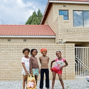 neighbourhood friends, diepkloof ext, pigment inks on 100% cotton rag paper, 95x79cm, 2009, edition of 8