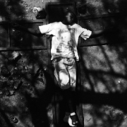 child jesus, hand printed fiber base silver gelatin print, 2003, edition of 10