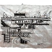 nostalgie, silk tapestry
