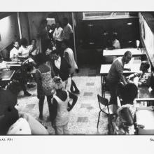 afronova gallery, ricardo rangel, the texas bar, 1971, hand printed fiber base silver gelatin print