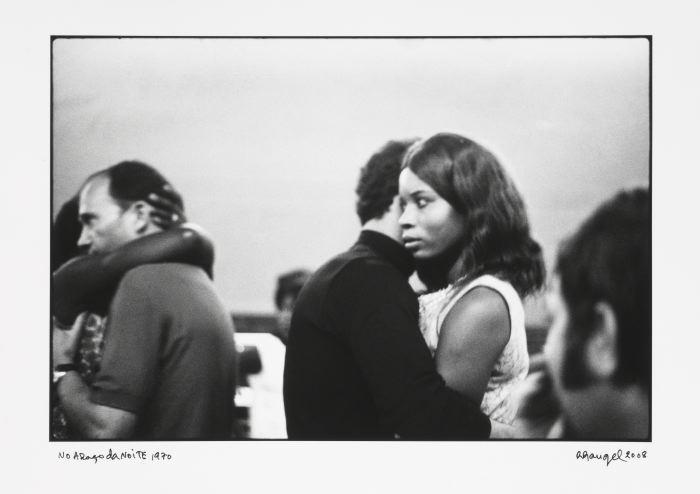 afronova gallery, ricardorangel, in the embrace of the night, 1970, hand printed fiber base silver gelatin print