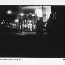 afronova gallery, ricardo rangel, sailors night in the rua araujo, 1969, hand printed fiber base silver gelatin print