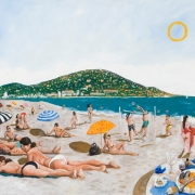 summer in sete, oil on canvas, 122x142cm, 2008