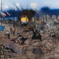 the massacre of the innocents, oil on canvas, 122x142cm, 2009