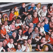 the spectators, oil on canvas, 80x100cm, 2009