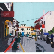 vilaflore, silk tapestry, 51x59 cm