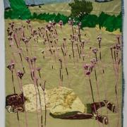 the dreamer, silk tapestry, 138x104cm