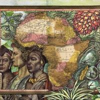 afronova gallery malala andrialavidrazana figures 1850, various empires, kingdoms, states and republics, ultrachrome pigment print on hahnemühle photo rag ultra smooth, 110x138.5cm, 2015, edition of 5