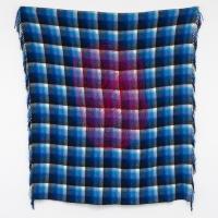 Failing 1, Verso, Wool on shawl, 132x120cm