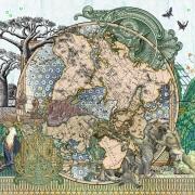 Figures 1816, Der Südliche Gestirnte Himmel vs Planiglob der Antipoden
