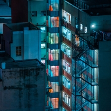 afronova gallery elsa bleda joburg Nightscapes, inkjet on 100% Cellulose bright white hahnemule pearl finish paper, 60x80 cm, 2014 - ongoing, edition of 10