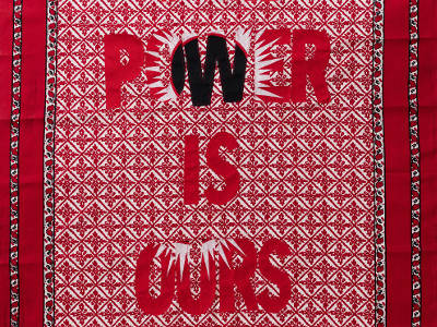 Lawrence Lemaoana, Power is Ours, afronova gallery
