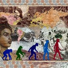 afronova gallery, malala Andrialavidrazana, Figures 1856, Leading races of man